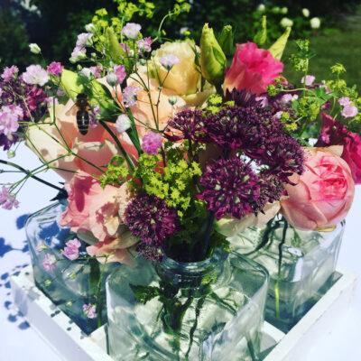 Wedding, Hochzeit, Blumen