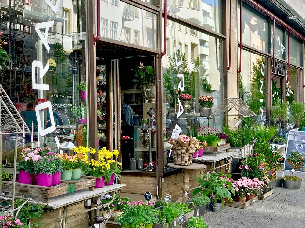 Florale Welten, berlin, laden, store